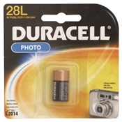 Duracell Non-Rechargeable Lithium Battery, Lithium, Manganese Dioxide, PX28L Battery, 160 mAh