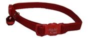 """Safe Cat Red Cat Collar, 12"""""""