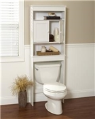 Country Cottage Bathroom Spacesaver Storage Cabinet