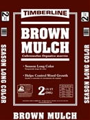 Brown Mulch 2 Cubic feet