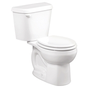 Colony Round Front Toilet, White