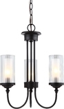 Lexington 3 Light Chandeier, Oil Rubbed Bronze