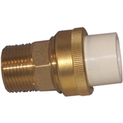 "3/4"" Transition Union (Slip x Brass MIP)"