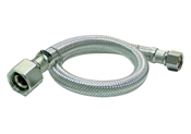 Plumb Pak EZ Series PP23840 Sink Supply Tube, 1/2 in Compression Inlet, 1/2 in FIP Outlet, 20 in L