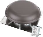 Power Roof Mounted Attic Ventilator Brown