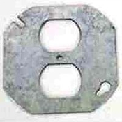 "4"" Round Duplex Receptacle Cover"