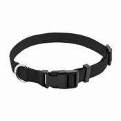 """Pet Expert Dog Collar, Black, 1"""" x 18-26"""""""
