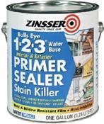 Bulls Eye 1-2-3 Interior/Exterior Primer Sealer, 1 Gallon