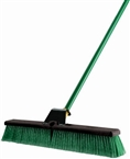 "24"" Super Bulldozer Indoor Outdoor Push Broom"