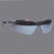 Safety Glasses Black Frame/Blue Mirror