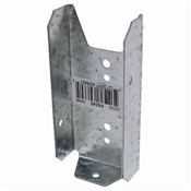 "2"" x 4"" 20 Gauge Z-Max Fence Bracket"