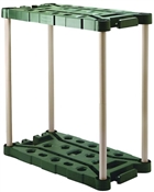 Rubbermaid 709218MICHR Tool Tower, 18 in L, 36 in W, Plastic