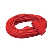 14/3 Extension Cord 3 Outlet Orange 50'