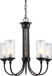 Lexington 5 Light Chandeier, Oil Rubbed Bronze