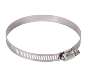 "Interlocked Hose Clamp, #64, Stainless Steel, 3-9/16"" to 4-1/2"""