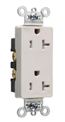 20A, Heavy Duty Decorator Outlet, Almond