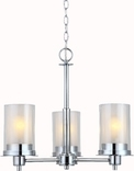 Avalon 3 Light Chandelier, Chorme Finish