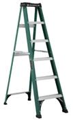 8' Fiberglass Type II Step Ladder