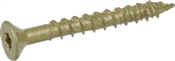 "Power Pro ONE Multi-Material Screw Exterior Flat Head Bronze-Plated 1/4"" x 2-1/4"""