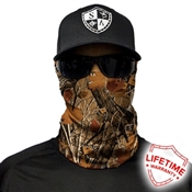 Forest Camo Face Shield