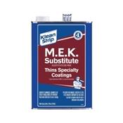 Klean Strip GME71 Methyl Ethyl Ketone Thinner, 1 gal Can