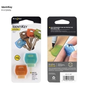 IdentiKey Covers, 4 Pack, Assorted Colors