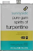 Sunnyside Pure Gum Spirits of Turpentine 1 Gallon