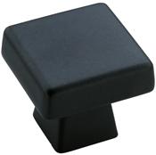 1-3/16 in (30 mm) Length Knob - Black Bronze