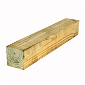 "4x4-7 Or 8' (Actual: 3-1/2""x3-1/2"") Untreated Southern Pine Post"