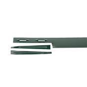 COL-MET 1014E Metal Edging, 10 ft L, 4 in H, 14 ga Thick, Steel, Green