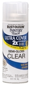 Rust-Oleum 2X Painter's Touch Spray Paint Semi-Gloss Clear