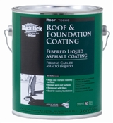 Fibered Roof & Foundation Coating - 3.6QT
