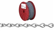 #16 Zinc Single Jack Chain 250' Roll