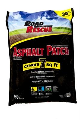 Shop Road Rescue Blacktop Patch Patch 50 Lb At Mccoy S