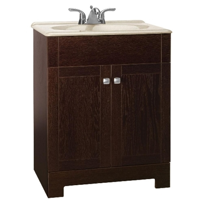 "24"" Sedona Series Vanity With Solid Surface Top"