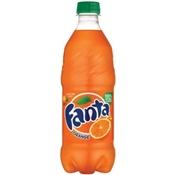 Fanta Orange Soda 20 Ounce