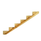 6 Step Ground Contact Treated Stair Stringer
