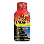 5-hour ENERGY 500181 Regular Strength Sugar-Free Energy Drink, 1.93 oz Bottle