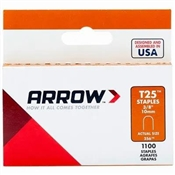 """3/8"""" T25 Wire and Cable Staples, 1,000 Pack"""