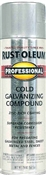 Professional Galvanizing Compound Spray Cold Gray