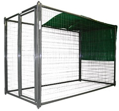 5' x 10' Kennel Shade