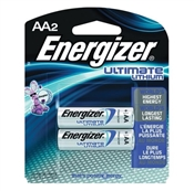 Energizer Non-Rechargeable Lithium Battery, Manganese Dioxide, 3000 mAh