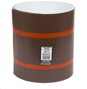 "14"" x 10' Trim Coil White/Brown"