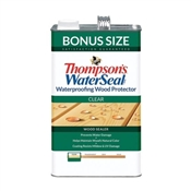 Thompson's WaterSeal TH.021802-03 Wood Sealer, Clear, 1 gal