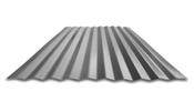 "8' Galvalume 2-1/2"" Corrugated 29 Gauge Metal Panel"