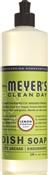 Mrs. Meyer'S Clean Day 12103 Concentrated Liquid Dish Soap, 16 Oz, Lemon Verbena, Liquid