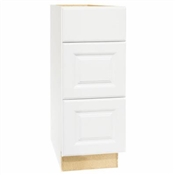 "Hamilton White 12"" Modular Vanity Drawer Base"
