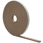 "1/4""x1/2""x17' Weatherstrip With Adhesive Foam Tape"