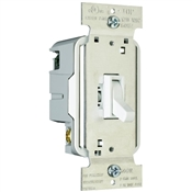 White 600 Watt 1 Pole Toggle Dimmer