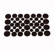 Prosource FE-S305-PS Furniture Pad, Felt Cloth, Brown